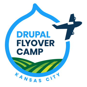 Kansas City Drupal Flyover Camp Logo